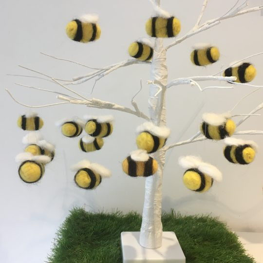 Bees in tree
